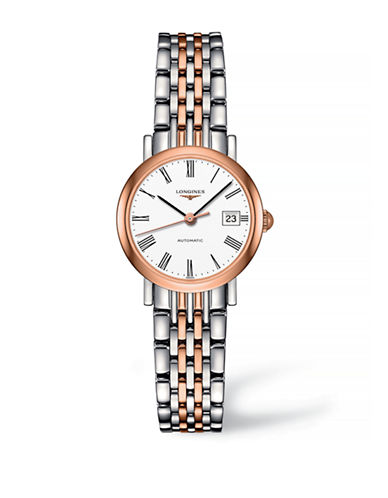 Longines Analog Rose Gold and Stainless Steel Watch-TWO TONE-One Size