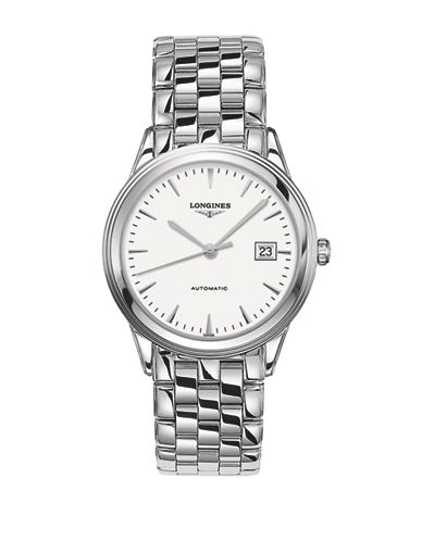 Longines Flagship Stainless Steel Link Bracelet Watch-WHITE-One Size