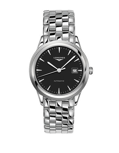 Longines Flagship Stainless Steel Bracelet Watch-BLACK-One Size