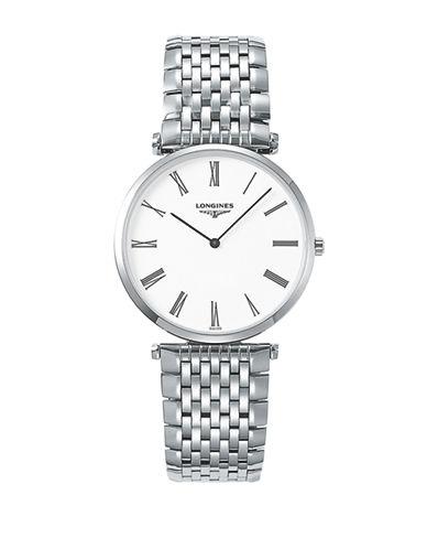 Longines La Grande Classique de Longines Stainless Steel Link Bracelet Watch-WHITE-One Size