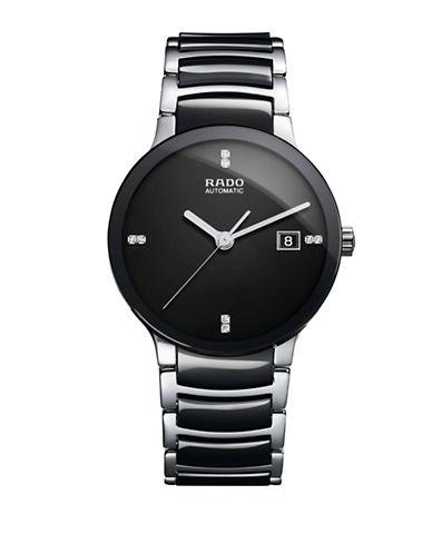 Rado Mens Automatic Centrix  R30941702 Watch-BLACK-One Size