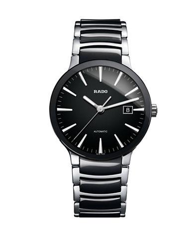 Rado Mens Automatic Centrix  R30941152 Watch-BLACK-One Size