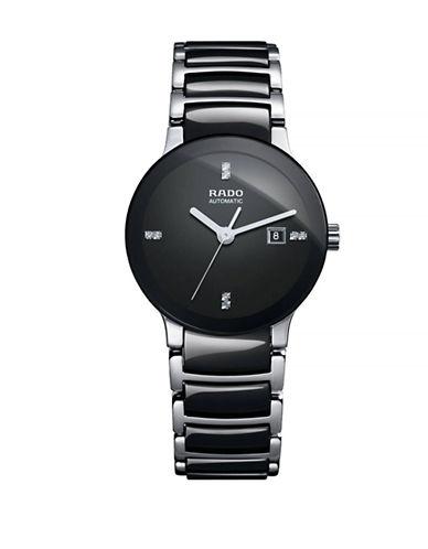 Rado Womens Automatic Centrix  R30942702 Watch-BLACK-One Size