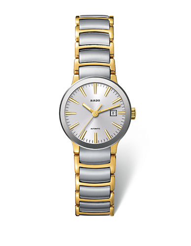 Rado Womens Automatic Centrix  R30530103 Watch-TWO TONE-One Size