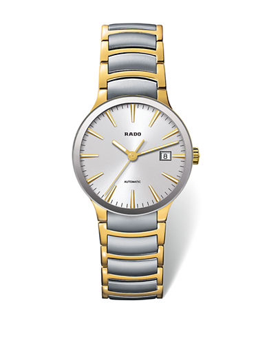 Rado Unisex Automatic Centrix  R30529103 Watch-TWO TONE-One Size