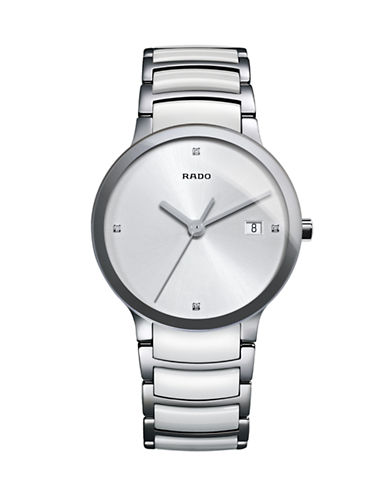 Rado Automatic Stainless Steel Watch-WHITE-One Size