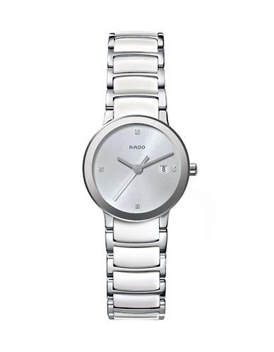 Rado Quartz Stainless Steel Watch-WHITE-One Size