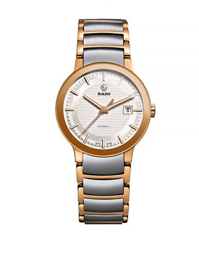 Rado Womens Automatic Centrix  R30954123 Watch-TWO TONE-One Size