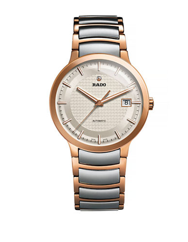 Rado Unisex Automatic Centrix R30953123 Watch-TWO TONE-One Size