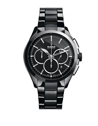 Rado Mens Chronograph Hyperchrome R32275152 Watch-BLACK-One Size