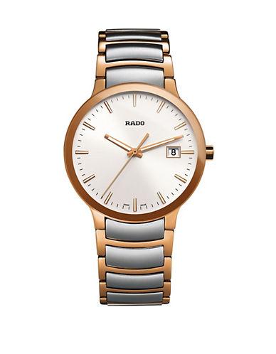 Rado Unisex Quartz Centrix  R30554103 Watch-TWO TONE-One Size