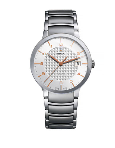 Rado Mens Automatic Centrix  R30939143 Watch-SILVER-One Size