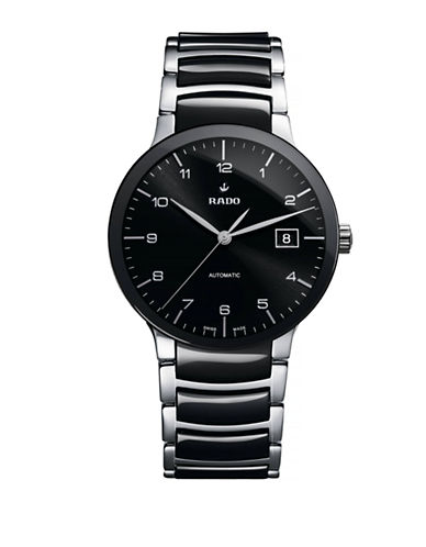 Rado Mens Automatic Centrix  R30941162 Watch-BLACK-One Size
