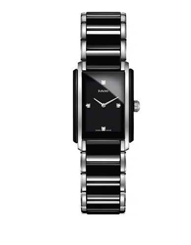 Rado Womens Quartz Integral R20613712 Watch-BLACK-One Size