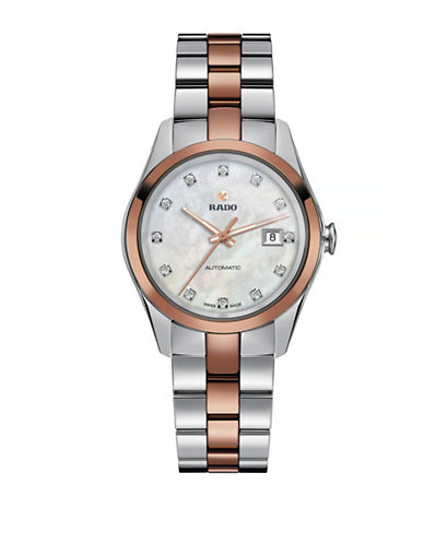 Rado Womens Automatic Hyperchrome R32087902 Watch-TWO TONE-One Size