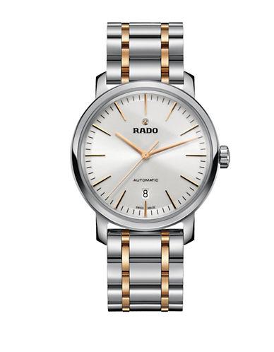 Rado Mens Automatic Diamaster R14077113 Watch-TWO TONE-One Size
