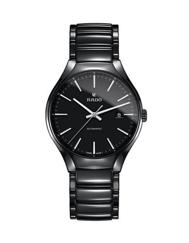 Rado True Automatic Ceramic Watch-BLACK-One Size
