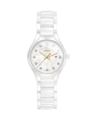 Rado True Thinline Automatic Watch-WHITE-One Size