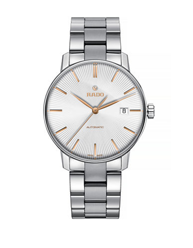 Rado Mens Automatic Coupole Classic Watch R22860023-STAINLESS STEEL-One Size