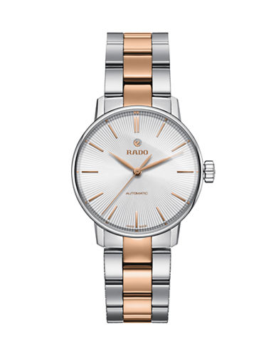 Rado Coupole Classic Automatic Stainless Steel Watch-TWO TONE-One Size
