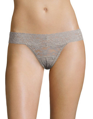 Triumph Lace Thong-DUST GREEN-X-Large