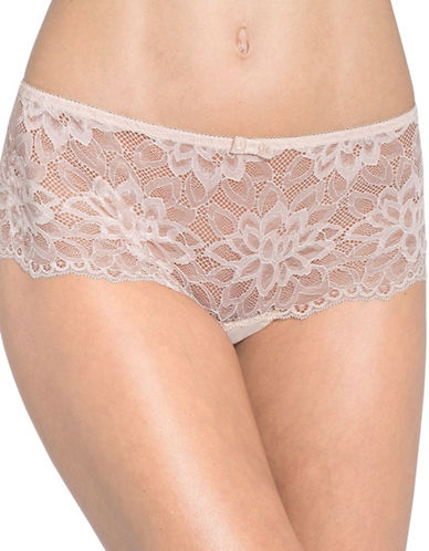 Triumph Dream Spotlight Lace Brief-NUDE BEIGE-Small