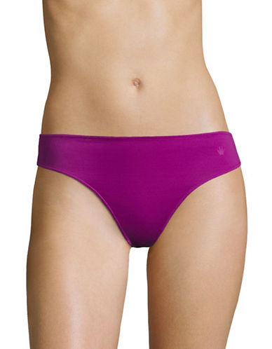 Triumph Light Basic Romance Thong-VIOLET-Medium