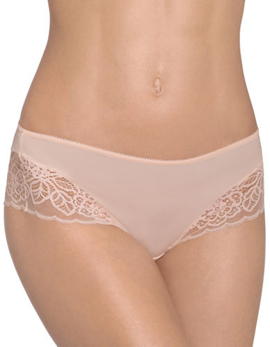 Triumph Amourette Spotlight Hipster Panties-ORANGE HIGHLIGHT-Small