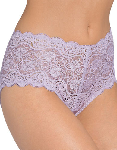 Triumph Amourette 300 Maxi Panties-SMOKY LILAC-Small