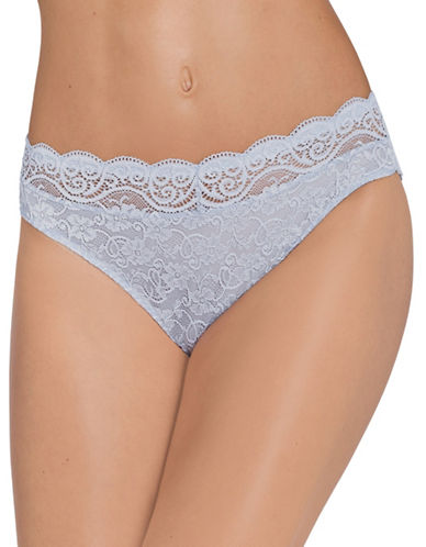 Triumph Amourette Lace Briefs-SMOKY LILAC-Medium