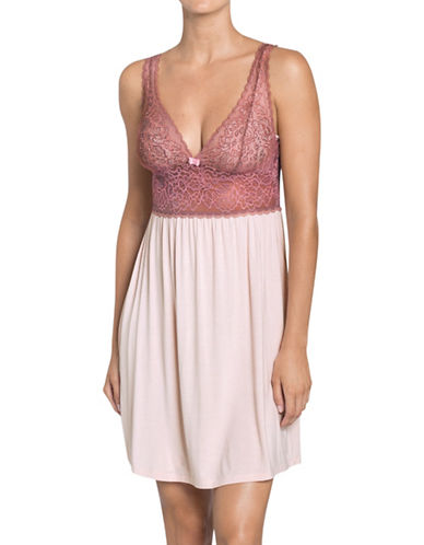 Triumph Amourette Spotlight Nightdress-PINK-X-Small
