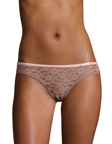 Triumph Dream On Lace Briefs-SWEET CHESTNUT-Small