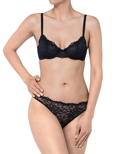 Triumph Dream Spotlight Wired Bra-BLACK-38DD