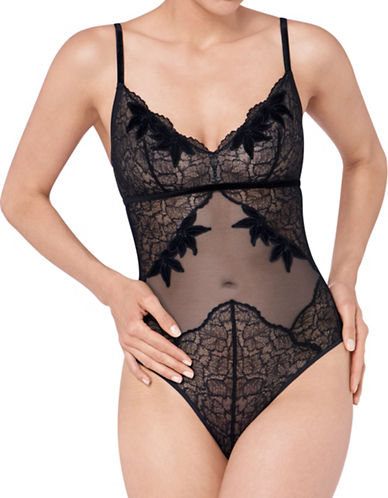 Triumph Lavish Essence Bodysuit-BLACK-Small