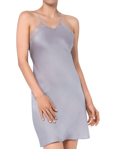 Triumph Lace Nightdress-GREY-X-Large