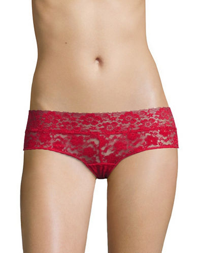 Triumph Lace Hipster Briefs-MARS RED-Large
