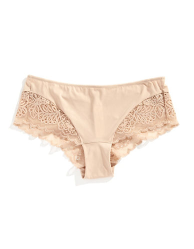 Triumph Amourette Spotlight Hipster Briefs-BEIGE-Medium