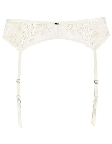 Triumph Poetic Essence Suspender Belt-WHITE-Large