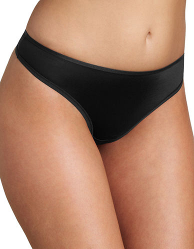 Triumph Just Body Make-Up Tai Seamless Briefs-BLACK-X-Large