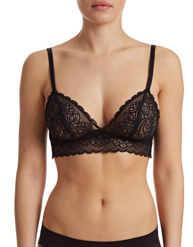 Triumph 59127 Amourette Spotlight Bralette-BLACK-Medium