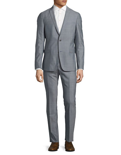 Strellson Clarc-Rames 2 Wool Suit-BLUE-42