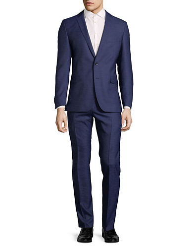 Strellson Allen-Mercer Wool Suit-NAVY-38