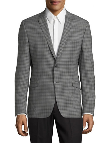 Strellson Allen Suit Jacket-GREY-44
