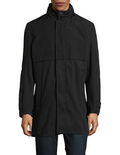 Strellson Headlight Mock Neck Jacket-BLACK-42