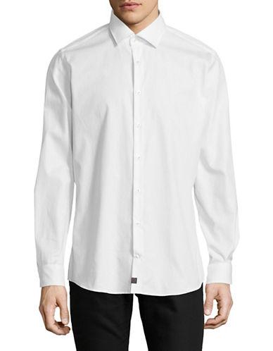 Strellson Sandor-C Cotton Sport Shirt-WHITE-15-32/33