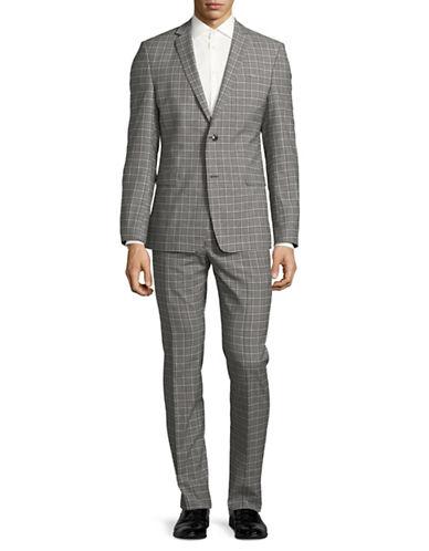 Strellson Cale-Madden Wool-Blend Suit-BLUE-40