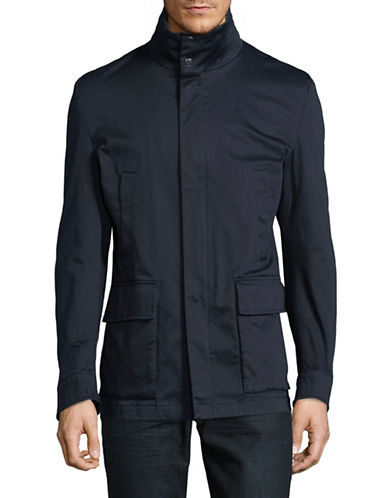 Strellson Anderson Mock Neck Jacket-BLUE-42