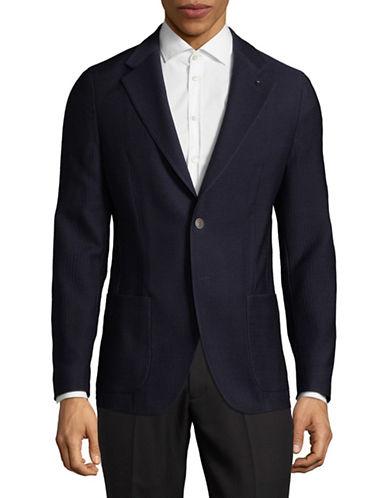 Strellson Classic Wool Blazer-NAVY-44
