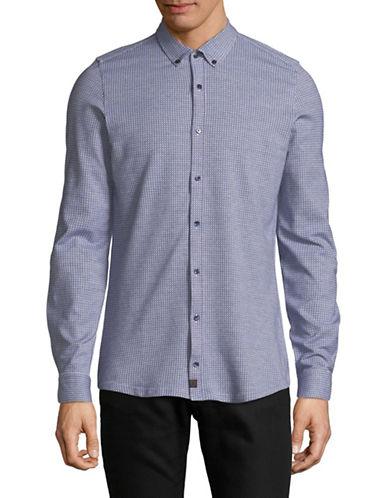 Strellson Printed Sport Shirt-BLUE-15-32/33