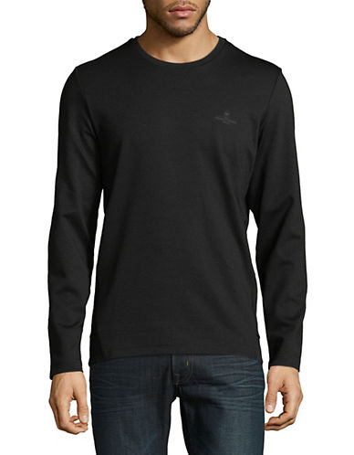 Strellson Marmot Long-Sleeve T-Shirt-BLACK-Large 90104549_BLACK_Large